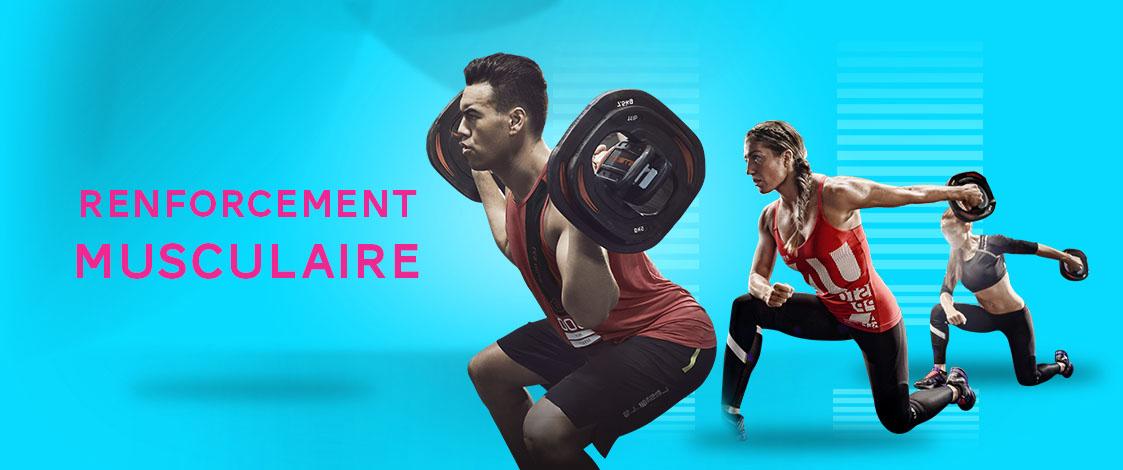 renforcement musculaire -Neofitness-Salle de fitness angers-club de remise en forme angers-Les Mills angers-Montreuil-Juigné-Angers 49